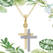 New Fashion Cross Charm Pendant Necklace Fashion Jewelry For Men Women Boys Girls Gift