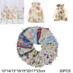 20X Cotton&Linen Packing Pouches Drawstring Bags Storage Sacks For Candy Jewelry