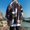 Japanese Style Kimono  Chinese Dragon Traditional Japanese Clothing Loose Casual Sunscreen Kimono Cardigans