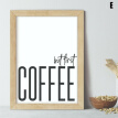 Kitchen Minimalist Wall Art Poster Prints.Quality Matching Home Picture Quote
