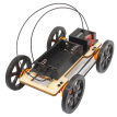 Big Wheel 4WD Vehicle Toy DIY Car Kit Children Educational Gadget Hobby Funny