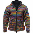 Men's Thick Warm Hooded  Overcoat Jacket Color Knit Sweater Coat  Jacket