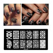 Pattern DIY Nail Art Image Stamp Stamping Plates Manicure Template