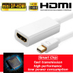 Smart ACC Adapter Thunder-Bolt Mini DisplayPort DP to HDMI Cable Adapter for iMac Macbook Pro Air
