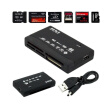 All in One CF XD SD Micro SD to USB Memory Card Reader Adapter Drive MultiCard Supports 64GB For PC Laptop Tablet