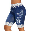 Lovaru Women Yoga Pants Print Shorts Leggings Plus Size
