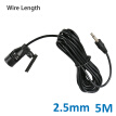 Car Microphone High Sensitivity For Radio Audio DVD External Mic 2.5mm Connector