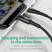 Baseus 5A Qi Charge 3.0 USB Type C Cable for Huawei P20 Lite Pro 2A Fast Charge Cable for samsung galaxy s9 s8 Xiaomi Vivo