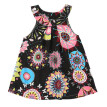ZR-6M-4T Fashion Kids Clothes Print Vest Girl Baby Clothing Floral Dress for Baby Infant Outfit Vestido Baby Bohemian Dresses