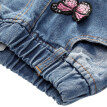 Baby Girls Jeans Butterfly Embroidery Elastic Waist Denim Pants Fashion Kids Children Clothes Pants 2-6Y
