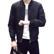 New Autumn Spring Men's Jackets Solid Fashion Coats Male Casual Slim Stand Collar Bomber Jacket Men Outerdoor Overcoat M-4XL