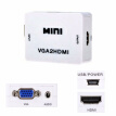 Converter Mini HDMI to VGA Output Video Converter High-definition Useful