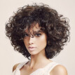 Momine Brazilian Women  Hair Wig Women Black Short Afros Curly Wigs 34cm