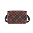 ALAZA Lunch Box Insulated Lunch Bag Large Cooler Christmas Fabric Pattern Tote Bag