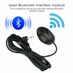 Black Microphone Bluetooth Mic 50Hz 20KHz For Car Radio Stereo GPS DVD Laptop
