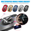 Multipurpose Mobile Phone Holder 360 Degree Car Air Vent Grip Mount Stand Rotation Magnetic Finger Ring Bracket for iPhone Huawe