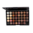 40 Colors Matte Pearl Eyeshadow Palette Makeup Tint Powder (01 No Brush)