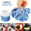 12X 5-6 Car Polisher Auto-Bonnet Soft Wool-Polishing Waxing Buffing Pad Cover