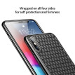 Baseus Luxury Soft Silicone Case For iphone XS XR XSMax,BV Weaving mobile Cover For 2018 New iphone