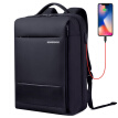 BOWERBIRD Business Men's Backpack Backpack Bag Charging Security Computer Bag 15.6 Inch 1185090711 Black