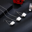 〖Bisturizer〗New Fresh Personality Jewelry Simple Roll Paper Necklace