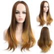 Mnycxen Womens Lady Long Hair Wig Curly Cosplay Party Full Wigs New