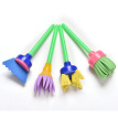 4 Pcs Sponge Painting Brush Flower Stamp Kids Diy Graffiti Drawing Toys