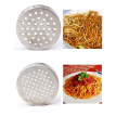 Noodle Making Manual Machine Stainless Steel Pasta Press Spaghetti Machine Fruit Juicer with 5 Noodle Moulds