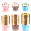 150 PCs(3 Colors Mixed) Muffin Cupcake Liner Cake Wrappers Baking Cup Tray Case Cake Paper Cups Pastry Tools Party Supplies