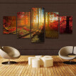 Mnycxen Unframed Modern Art Oil Painting Print Canvas Picture Home Wall Room Decoration