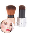 Cosmetic Retractable Foundation Makeup Brush Blusher Face Powder Brushes Tool