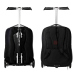 Sports scooter pull lever case backpack student bag business travel boarding case suitcase detachable by turning