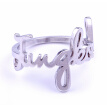 8 Style Album Ring Stainless Steel Finger Rings Bangtan V Suga Jewelry Rings Accessories For Men Women Couple Ring