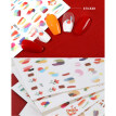 Abstract Nail Sticker Fashion Creative Nail Art Decal Nail Art Sticker