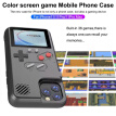 For IPhone 11/Pro/Max Color Screen Game Machine Mobile Phone Shell Handheld Game Phone Case Retro 3D Case 36 Games Phone Cover