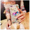 Bling Flower Pearl Rhinestone Crystal Diamond Soft Back Cover Case For Huawei Honor 8X MAX