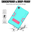 For Samsung Galaxy Tab A7 10.4 T500 T505 Hy-brid Rubber Rugged Stand Case Cover