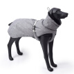 Dog Winter Jacket Warm Puppy Coat Waterproof Windproof Dog Apparel Breathable Pet Clothes, Senior Grey XL