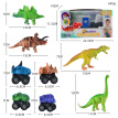 Kids Crafts Arts Painting Toys DIY Coloring 3D Animal Dinosaur Graffiti Toy Set For Baby Children Girls Boys
