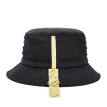 OMTO fisherman hat 2019 new men and women original tide brand Korean version of the sunhat hat hip hop wild street basin hat face small breathable literary hipster hat sun hat black code