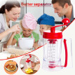Doubla Batter separator Cupcakes Pancakes Cookie Cake Waffles Batter Dispenser cookie