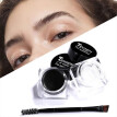 Hot Sale 3 Colors Natural Eyebrow Styling Soap Tint Makeup Waterproof Sweat-proof Eyebrow Gel with Brush Portable Cosmetics