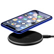 Willstar Wireless Phone Charger Non-Slip Pad for iPhone 11 XS XR 8 Galaxy Note 9 S10 Qi Charger-Black