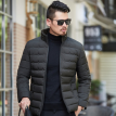 Winter 2018 men's cotton-padded jacket with stand-up collar short style cold-proof cotton-padded coat