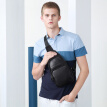 Golf GOLF Men's Chest Bag Casual Sports Shoulder Bag Trend Travel Small Backpack Vintage Crossbody Men's Bag D8BV51943J Black