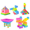 Big Particle Building Blocks for Boxed Children's Early Education and Intelligence Assembling Toys Environmental Protection Plasti