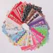 50Pcs Assorted Bundle Quilt Quilting Cotton Fabric Sewing Crafts DIY 10x10cm