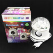 Follure Portable 6W RGB LED Disco Ball Light E27 Lamp Bluetooth Speaker Music Player