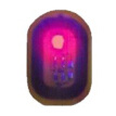 1Pcs Nail Art Tip Sticker Chip Glowing Nail Decal Manicure LED Light Flash Tool