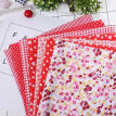 25cmx25cm Cotton Fabric Printed Cloth Sewing Quilting Fabrics for Patchwork Needlework DIY Handmade Material